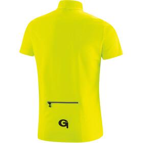 Gonso Como Half-Zip SS Bike Jersey Kids, amarillo/negro